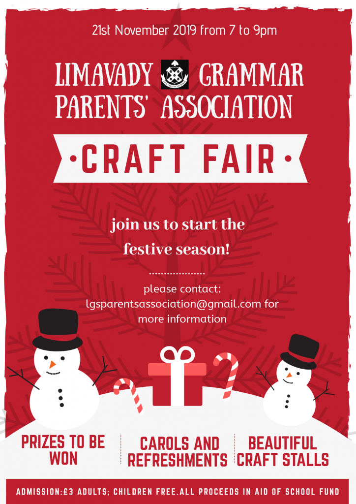 Parents' Association Craft Fair